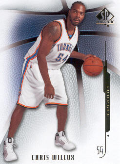 2008-09 SP Authentic #6 Chris Wilcox