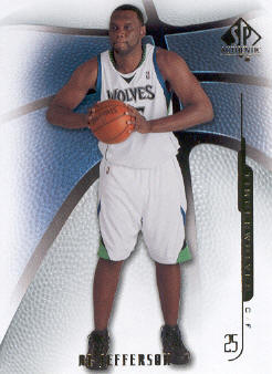 2008-09 SP Authentic #7 Al Jefferson