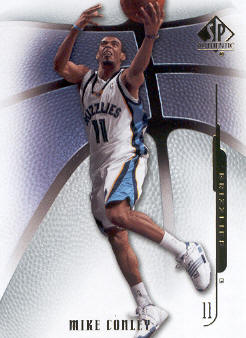 2008-09 SP Authentic #11 Mike Conley