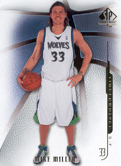 2008-09 SP Authentic #12 Mike Miller