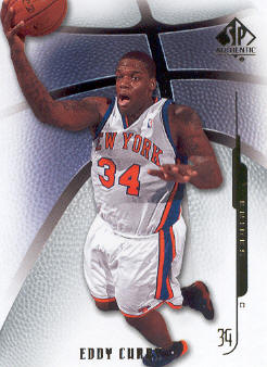 2008-09 SP Authentic #14 Eddy Curry