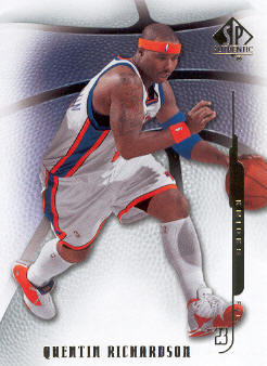 2008-09 SP Authentic #15 Quentin Richardson