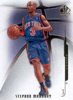 2008-09 SP Authentic #16 Stephon Marbury