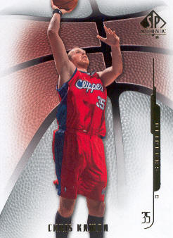 2008-09 SP Authentic #17 Chris Kaman