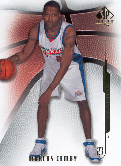 2008-09 SP Authentic #18 Marcus Camby