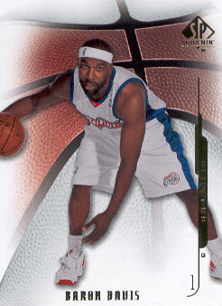 2008-09 SP Authentic #19 Baron Davis