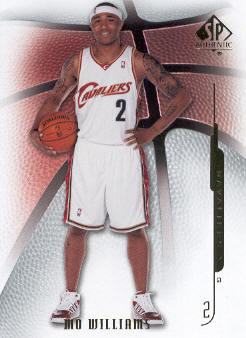 2008-09 SP Authentic #22 Mo Williams