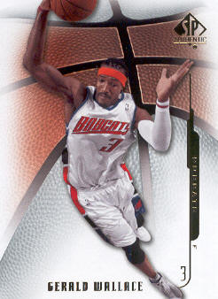 2008-09 SP Authentic #24 Gerald Wallace