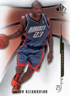 2008-09 SP Authentic #25 Jason Richardson