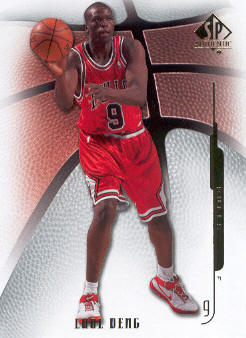2008-09 SP Authentic #27 Luol Deng