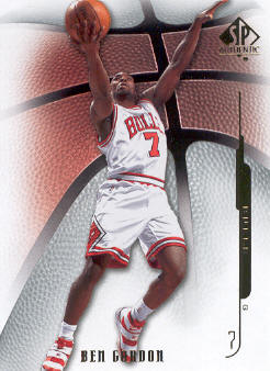 2008-09 SP Authentic #28 Ben Gordon