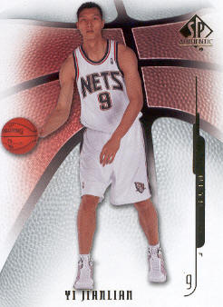 2008-09 SP Authentic #31 Yi Jianlian