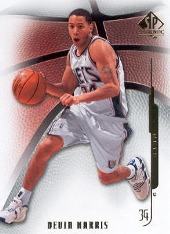 2008-09 SP Authentic #32 Devin Harris