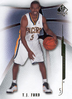 2008-09 SP Authentic #33 T.J. Ford