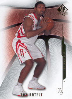 2008-09 SP Authentic #36 Ron Artest