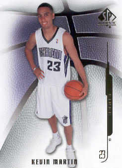 2008-09 SP Authentic #37 Kevin Martin