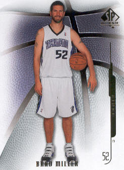 2008-09 SP Authentic #38 Brad Miller