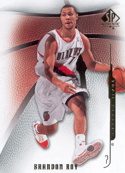 2008-09 SP Authentic #39 Brandon Roy