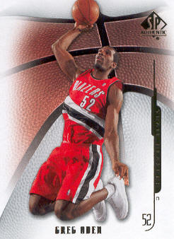 2008-09 SP Authentic #41 Greg Oden