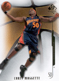 2008-09 SP Authentic #42 Corey Maggette