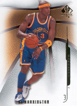 2008-09 SP Authentic #43 Al Harrington