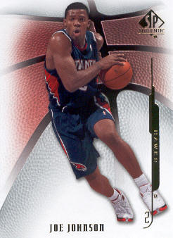 2008-09 SP Authentic #46 Joe Johnson