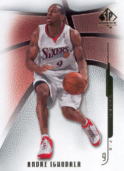 2008-09 SP Authentic #49 Andre Iguodala