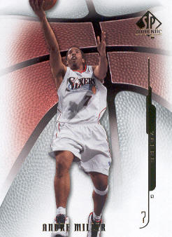 2008-09 SP Authentic #50 Andre Miller