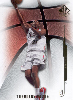 2008-09 SP Authentic #51 Thaddeus Young