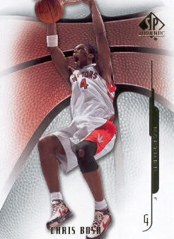 2008-09 SP Authentic #52 Chris Bosh