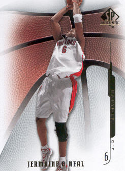 2008-09 SP Authentic #53 Jermaine O'Neal