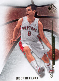 2008-09 SP Authentic #54 Jose Calderon