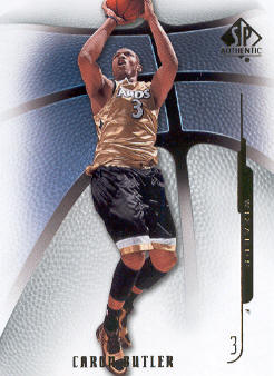 2008-09 SP Authentic #56 Caron Butler