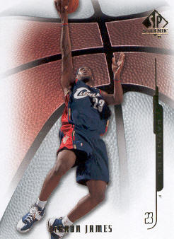 2008-09 SP Authentic #58 LeBron James