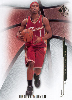 2008-09 SP Authentic #59 Daniel Gibson