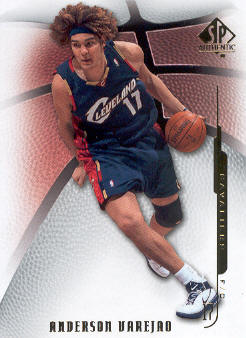 2008-09 SP Authentic #60 Anderson Varejao