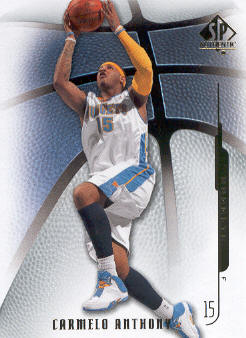 2008-09 SP Authentic #62 Carmelo Anthony