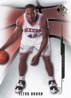 2008-09 SP Authentic #63 Elton Brand