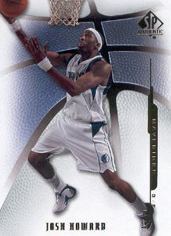 2008-09 SP Authentic #66 Josh Howard