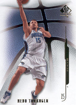 2008-09 SP Authentic #68 Hedo Turkoglu