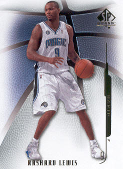 2008-09 SP Authentic #69 Rashard Lewis