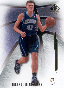 2008-09 SP Authentic #72 Andrei Kirilenko