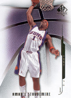 2008-09 SP Authentic #76 Amare Stoudemire