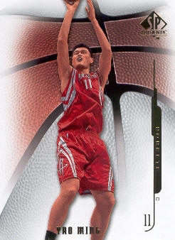2008-09 SP Authentic #78 Yao Ming