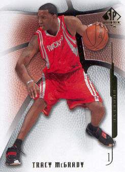 2008-09 SP Authentic #79 Tracy McGrady