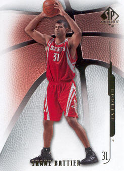 2008-09 SP Authentic #80 Shane Battier