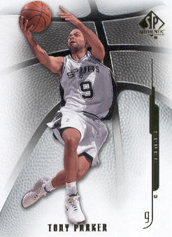 2008-09 SP Authentic #83 Tony Parker