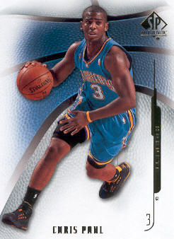 2008-09 SP Authentic #85 Chris Paul