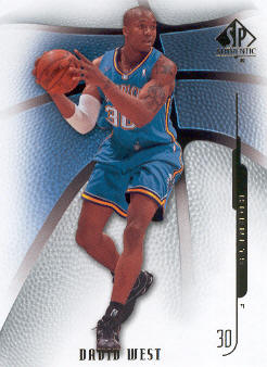 2008-09 SP Authentic #86 David West