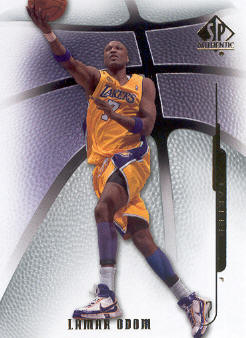 2008-09 SP Authentic #91 Lamar Odom